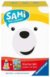 Ravensburger 00097 - SAMi, dein Lesebär, Starter-Set - PAW Patrol, für Kinder ab 5 Jahren Cover