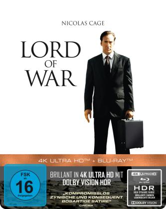 Lord of War - Händler des Todes 4K, 1 UHD-Blu-ray + 1 Blu-ray (Steelbook)
