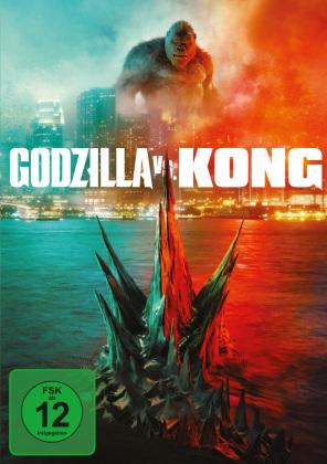 Godzilla vs. Kong, 1 DVD