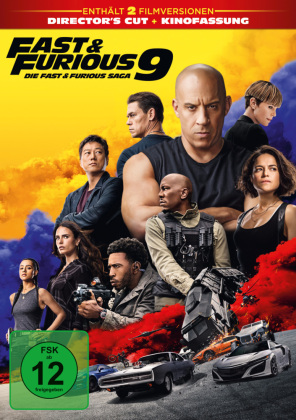 Fast & Furious 9, 1 DVD